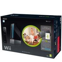 Набор для занятия фитнесом Nintendo Wii Fit Plus Pack Black